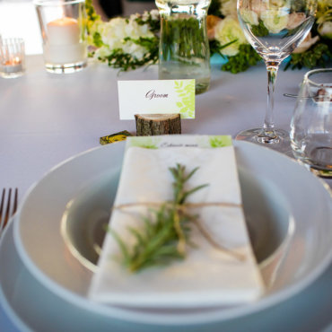 Greenery Esküvői dekor