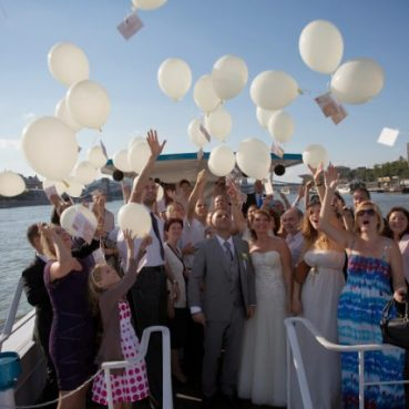 Wedding on the Danube