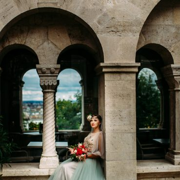 Bride in Budapest